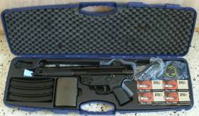 MKE Zenith Z-5RS 9mm Pistol w/ 200rds AMMO, $1720 w/ FREE SHIPPING!