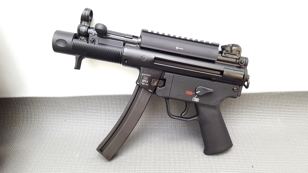 HK SP5K 9mm German  Pistol