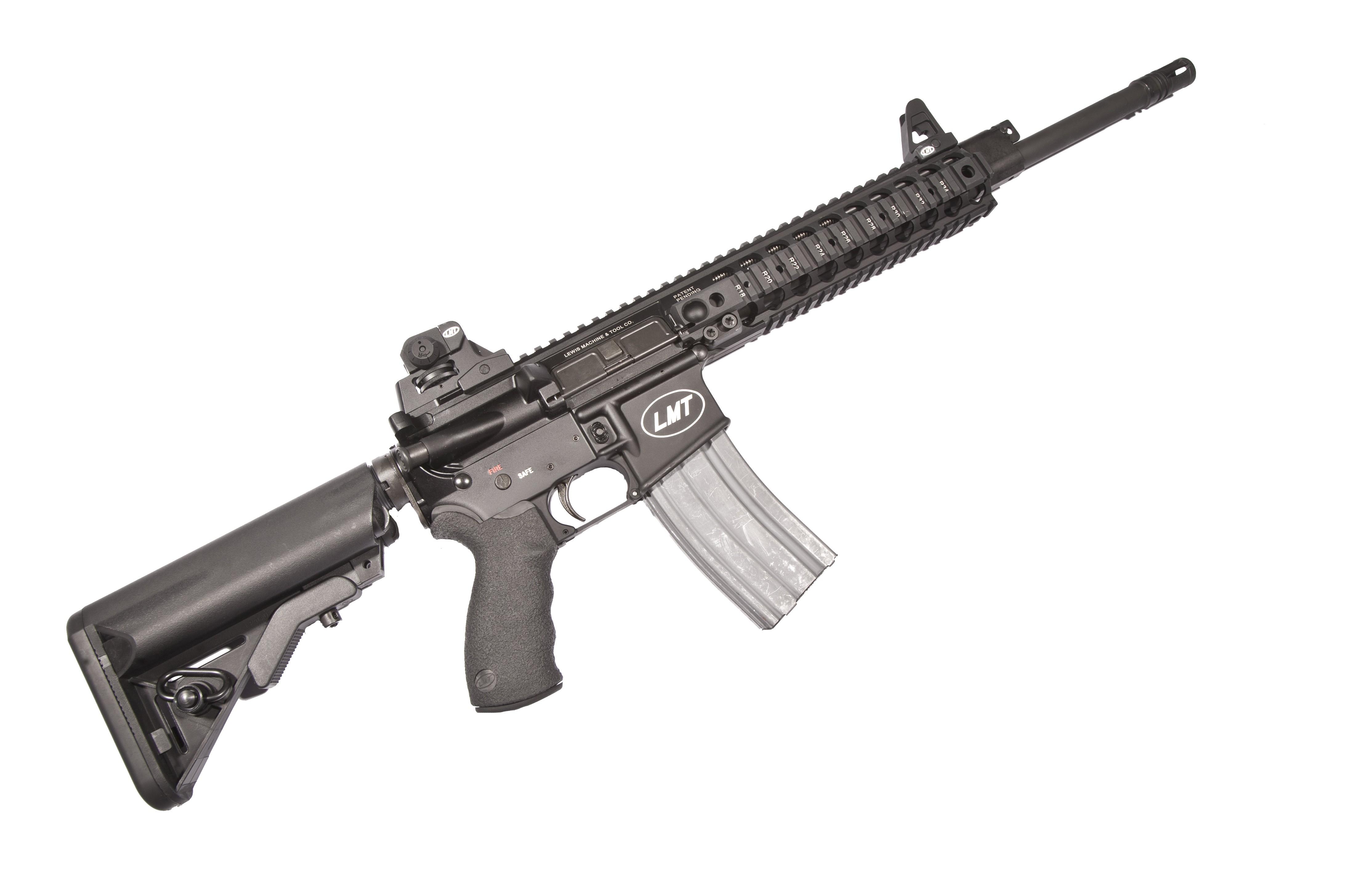 LMT-Lewis Machine & Tool CQB MRP .308 Modular Weapon System w/16 ...