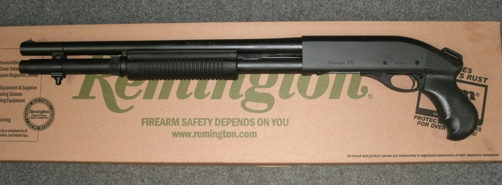 Shotguns, Pump & Semi Auto : REMINGTON 870 18