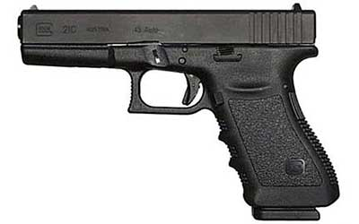 GLOCK 21C COMP 45ACP PISTOL,W/FIXED SITES 13RD