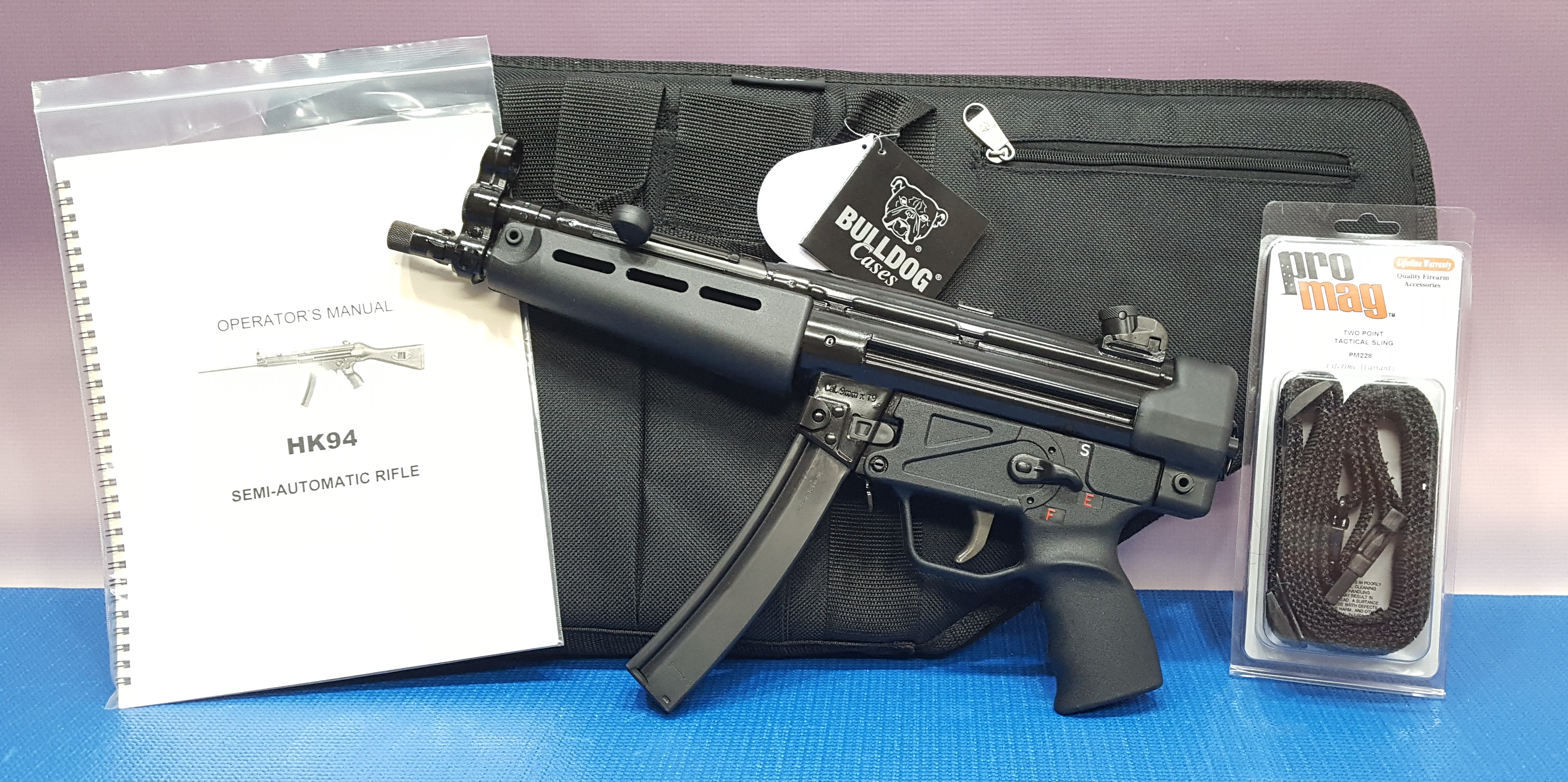 HK 94/MP5 by Kellyenterprises is a KE 94 Pistol in 9mm