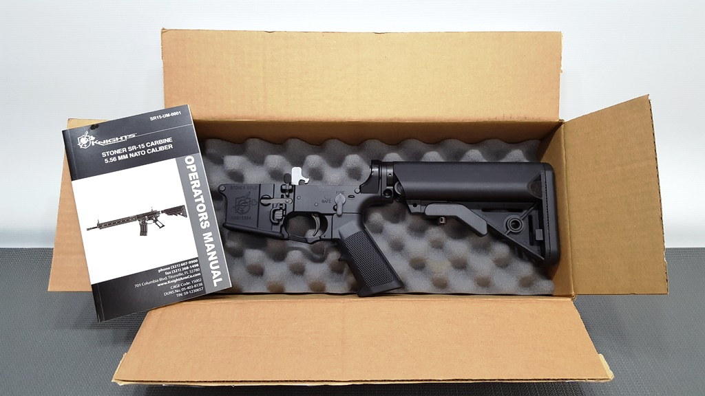 Knights Armament SR-15 lower receiver
