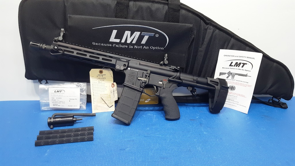 LMT MARS MLOK MATCH 10 5inch 5 56mm Pistol