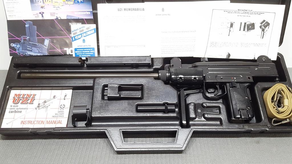 Imi Mini Uzi Carbine For Sale
