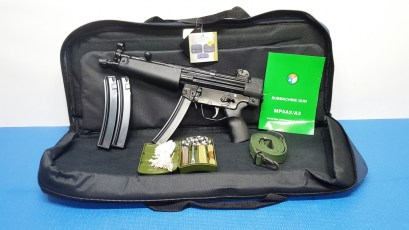 POF-5 FEDARM MP5 9MM PISTOL,NIB, 3-30RD MAGS,SLING, CLEAN KIT, RANGE BAG