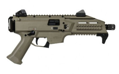 CZ SCORPION EVO 3 S1 9MM PISTOL FDE