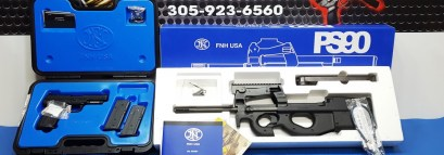 FN 5.7mm  PS90 Rifle & 5.7 Pistol combo Pkg.