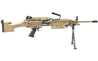 FN M249S 5.56NATO 18.5INCH BELTFED FDE RIFLE