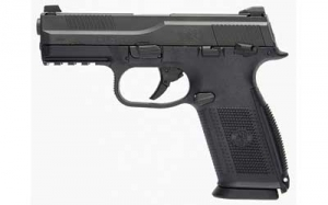 FN FNS 9MM 3-17RD mags 4inch Pistol Black POLY Night sights.