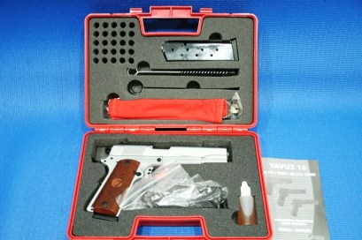Girsan MC-1911-S Bright White 45acp pistol