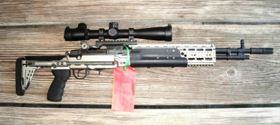 Smith Enterprise USN MK1 Mod 0, 308 w/Suppressor