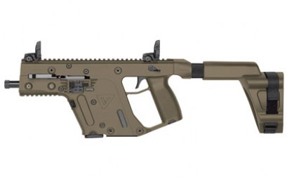 KRISS VECTOR SDP SB 9MM 5.5in PISTOL FDE