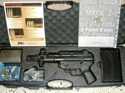 MKE Zenith Z-5P Pistol with 922r Compliant parts included