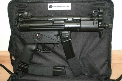 MKE Zenith Firearms Z-5k Pistol with CE gun bag