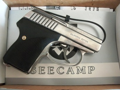 LW SEECAMP,.32ACP CALIFORNIA EDITION WITH FACTORY SAFETY
