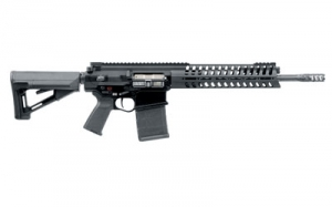 Patriot Ordnance Factory R308 14.5inch barrel with pinned brake and M-Rail
