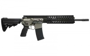 POF R415 223cal. 14.5inch Barrel Rifle, with T-rail and NP3 finish and 30rd mag.