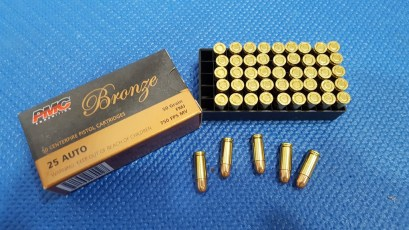 Seecamp PMC 25A FMJ 50gr Ammo