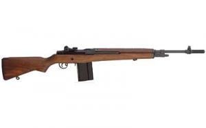 Springfield M1A 308 Rifle, Blue finish, Walnut stock,10rd mag.