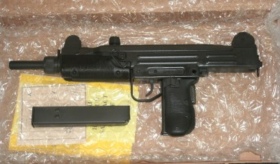 VECTOR ARMS BAN STATE UZI PISTOL 9MM,OR 45