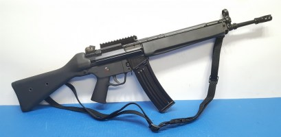 Vector Arms V93 556mm Rifle with Blue Cal Scope Mnt