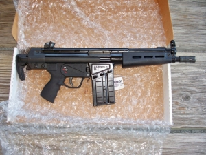 VECTOR ARMS,V-51 SBR STANDARD BARREL & JLD/PTR RECEIVER