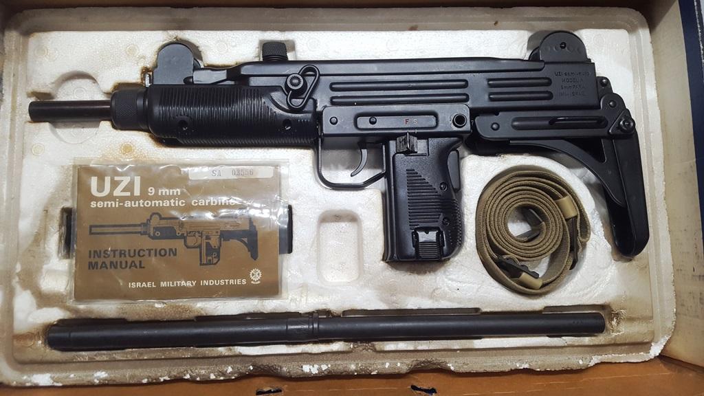 IMI Uzi 9mm Carbine, Model B LNIB Preban