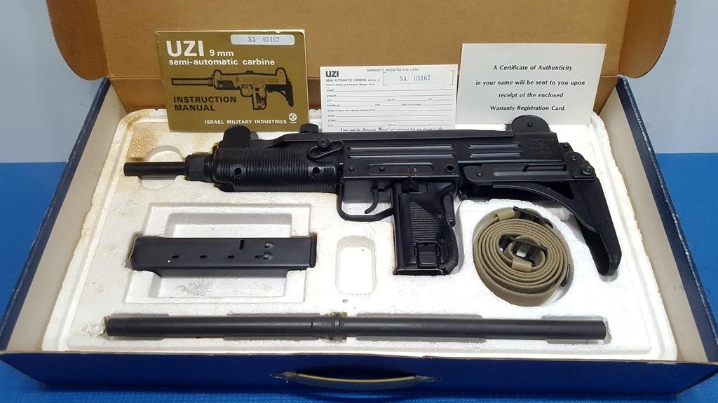 MI Uzi Model B Preban 9mm Carbine NIB