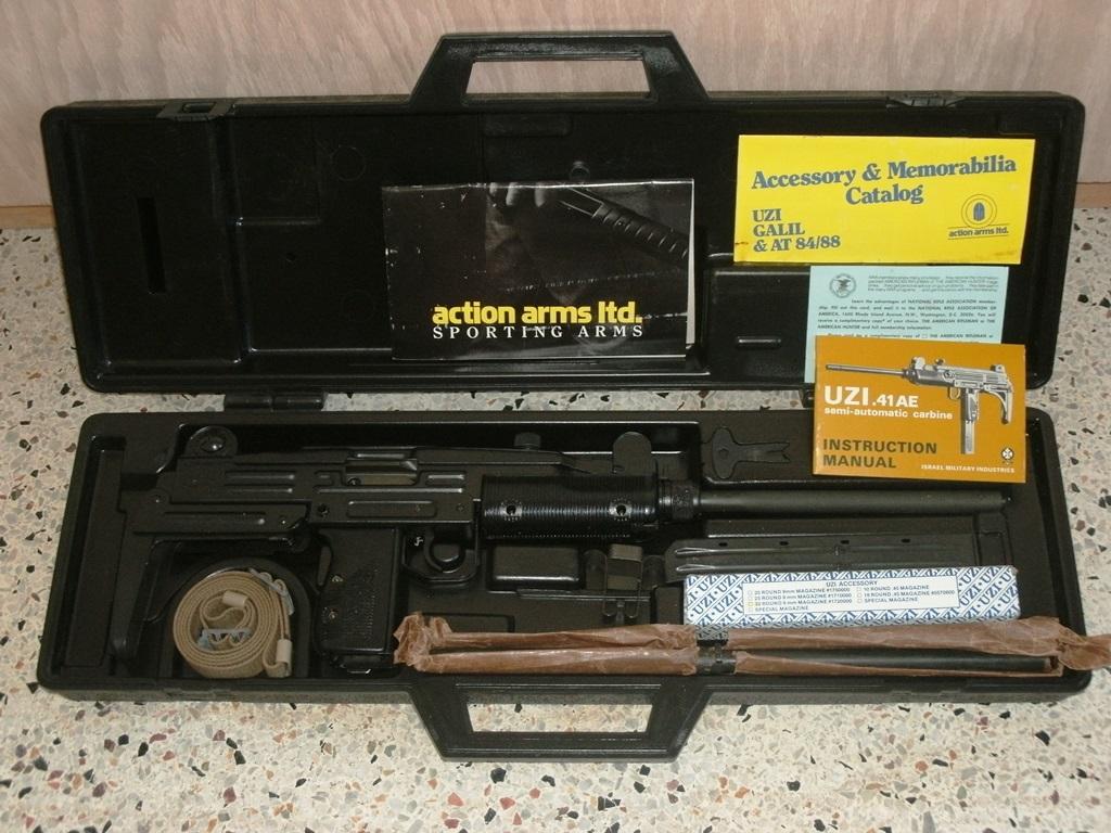 For sale trade imi uzi carbine made in israel 9mm - Imi 41ae 9mm Uzi Model B Carbine Preban 100 Nib W Imi Conversion Kit