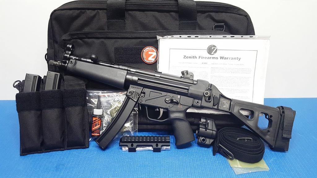 ZENITH MKE Z-5RS SB FOLDING ARMBRACE 9MM 8 9in Pistol